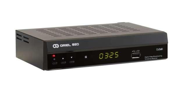 Dvb t2 телевизионная приставка oriel 820
